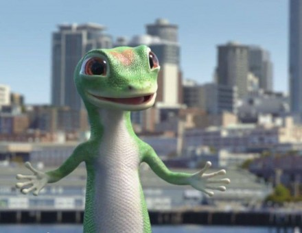 Geico's long-lived gecko character.